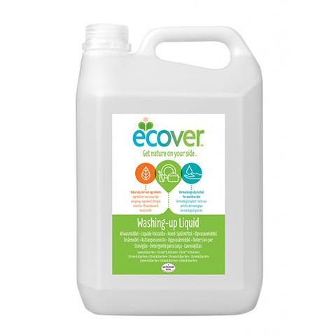 ECOVER Экологическая жидкость для мытья посуды с лимоном и алоэ-вера, 5л