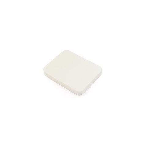 Спонж для макияжа TNL Прямоугольник белый улучшенное качество