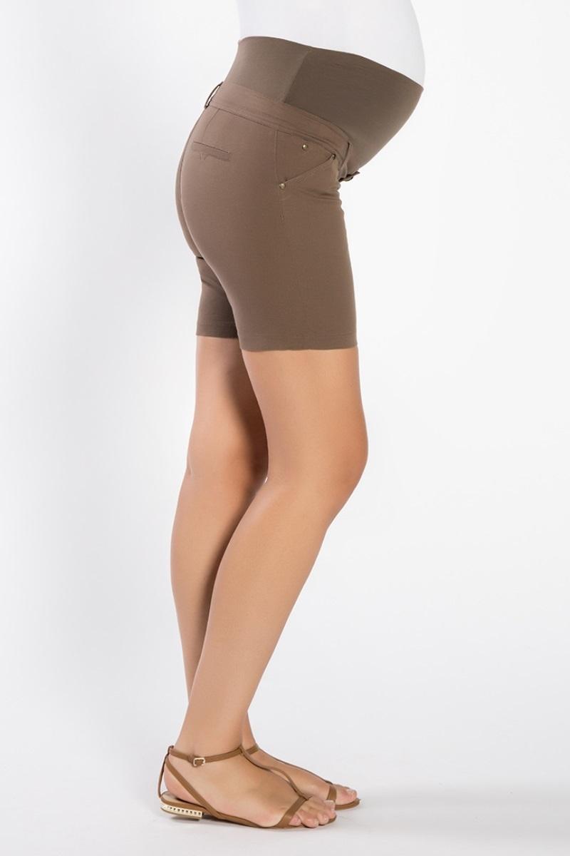 Шорты для беременных 06830 коричневый