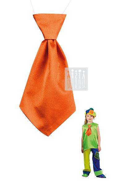 Клоун Тяп-Ляп (галстук) (однотонный)