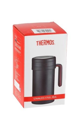 Термос Thermos TCMF-501 (0,5 литра) с ситом, коричневый