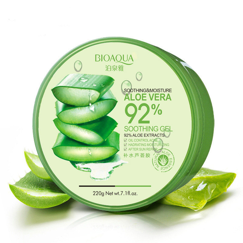 Bioaqua Увлажняющий гель алоэ вера Aloe Vera 92% Gel, 220 мл
