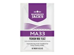 Дрожжи винные Mangrove Jack`s MA-33 8г