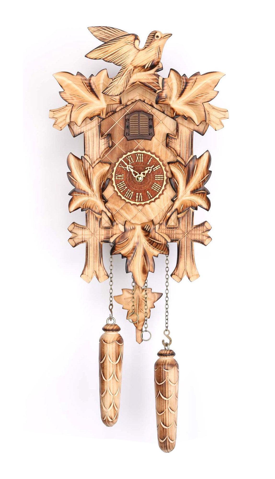 Часы настенные Часы настенные с кукушкой Trenkle 374 QM HZZG chasy-nastennye-s-kukushkoy-trenkle-374-qm-hzzg-germaniya.jpg
