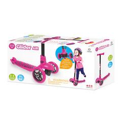 Самокат детский для девочек Yvolution Glider Air, розовый