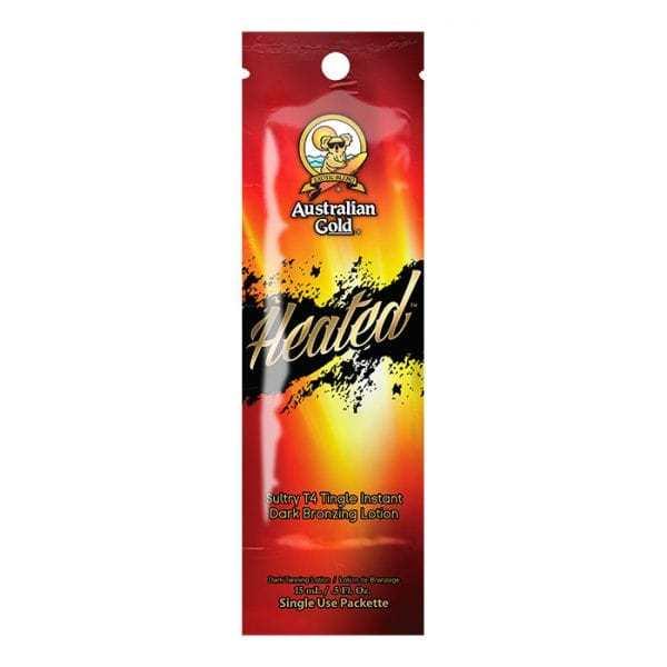 Australian Gold Лосьон для загара 15мл HEATED С Тингл эффектом