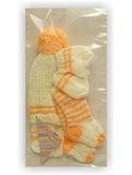 Вязаный комплект - Упаковано. Одежда для кукол, пупсов и мягких игрушек.
