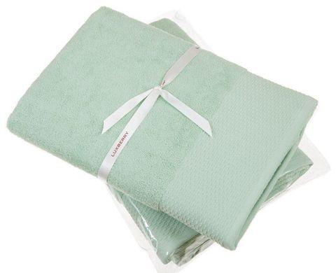 Полотенце 50x100 Devilla Joy зеленое