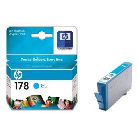 Картридж HP CB318HE (№178) Cyan inkjet CIS
