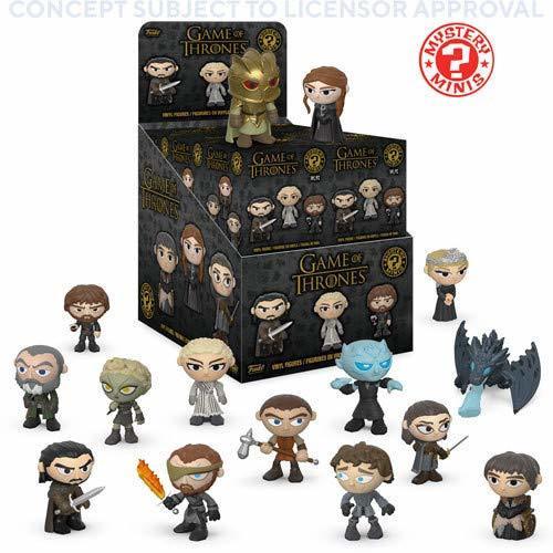 Фигурка Funko Mystery Minis: Game of Thrones S10: PDQ (CDU 12) 37701 (1 шт.)