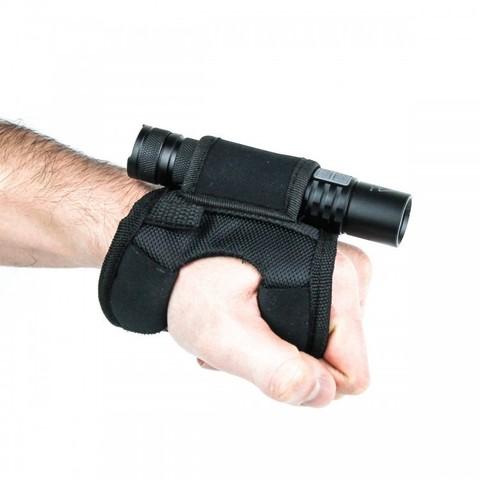 Крепление на руку для дайвинговых фонарей, черный маленький