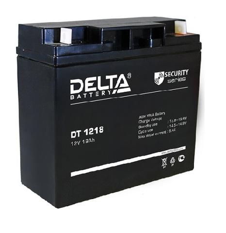 DT 1218 аккумулятор 12В/18Ач Delta