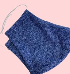 Многоразовая повязка для лица (под джинсу)