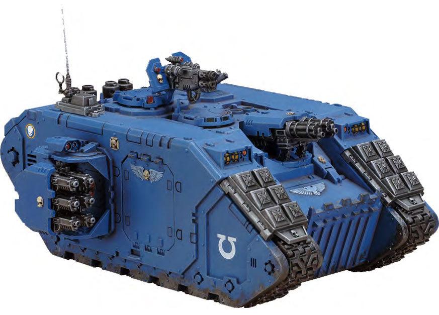Space Marine Land Raider Crusader / Redeemer