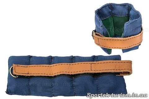 Утяжелители для ног и рук (2 шт по 0.5 кг)