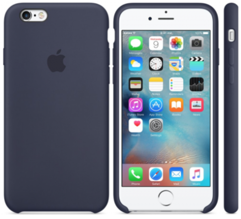 iPhone 6/6s Silicone Case  Темно Синий