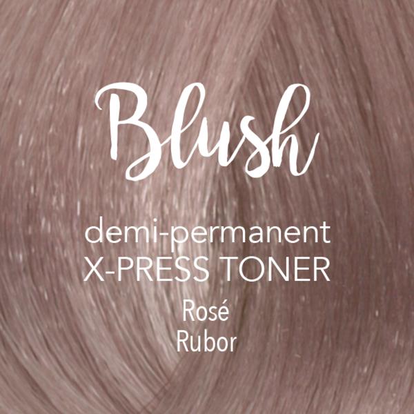 X-Press Toner Blush | полу-перманентный тонер mydentity - Пудровый