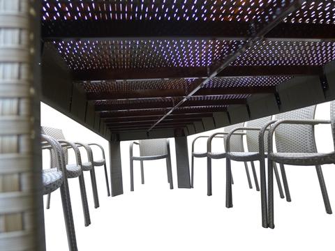 Стол Мадрид Макси-3 со стеклом