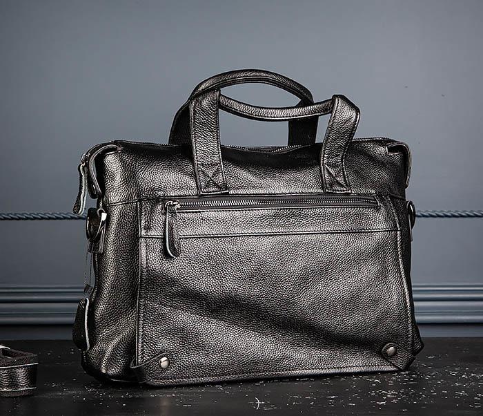 BAG513-1 Стильная мужская сумка из натуральной кожи
