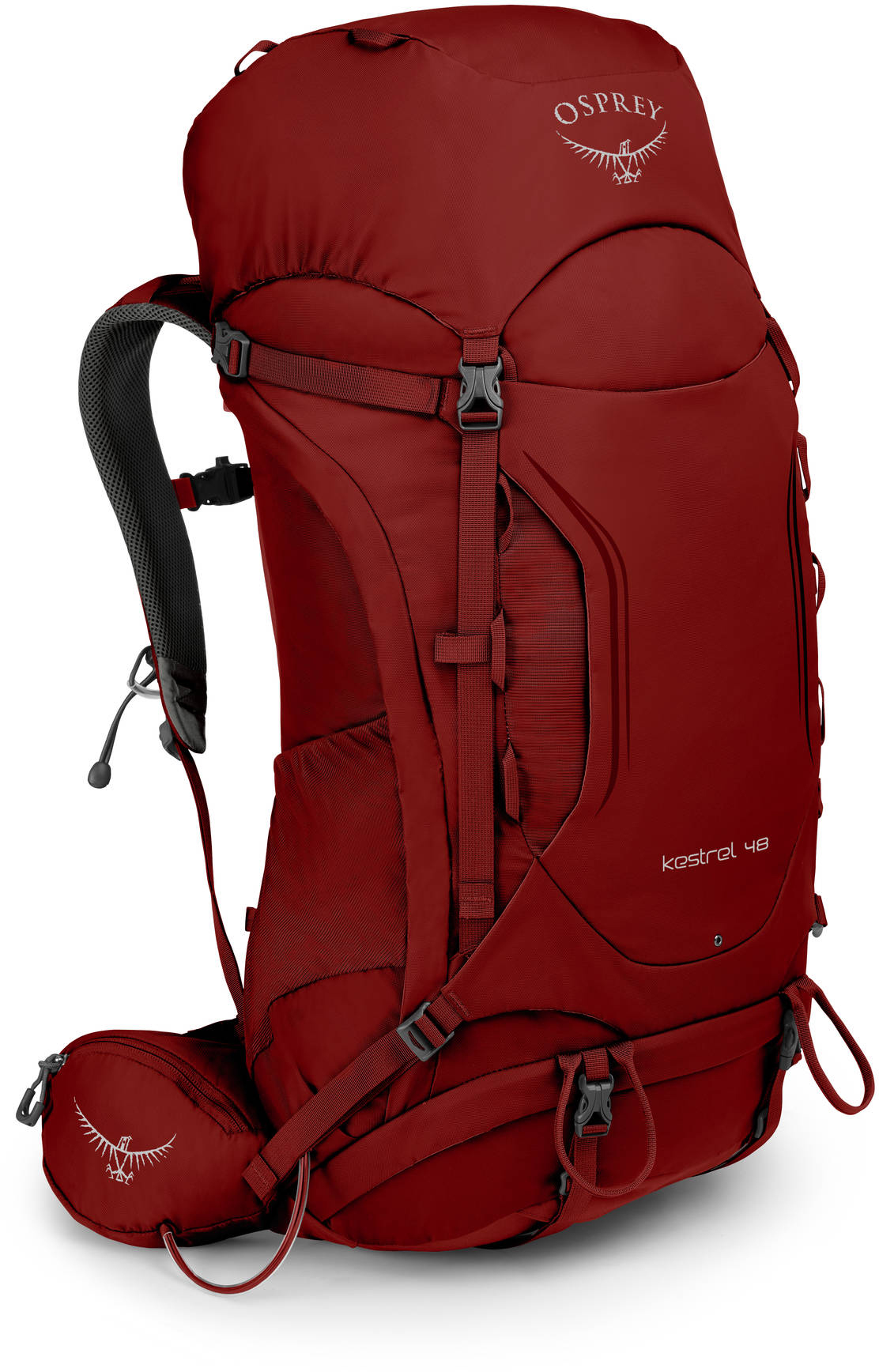 Kestrel Рюкзак туристический Osprey Kestrel 48 Rogue Red (2019) Kestrel_48_S19_Side_Rogue_Red_web.jpg