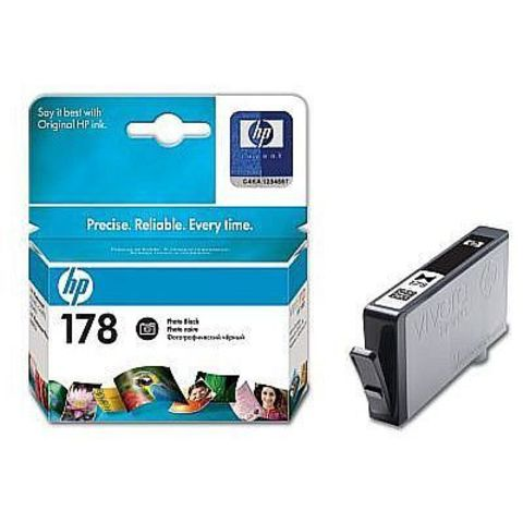 Картридж HP CB317HE (№178) Photo Black inkjet CIS