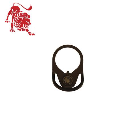 Стальное кольцо с креплением под ремень «ДУГА»