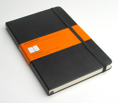Moleskine Large Ruled Notebook