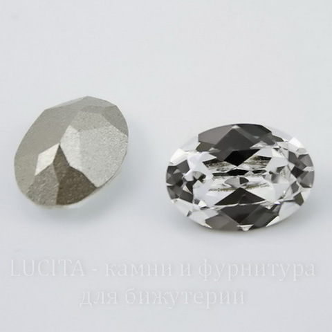 4120 Ювелирные стразы Сваровски Crystal  (18х13 мм) ()