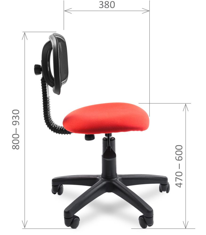 Офисное кресло Chairman 250 (С-2 красный), Chairman, г. Москва