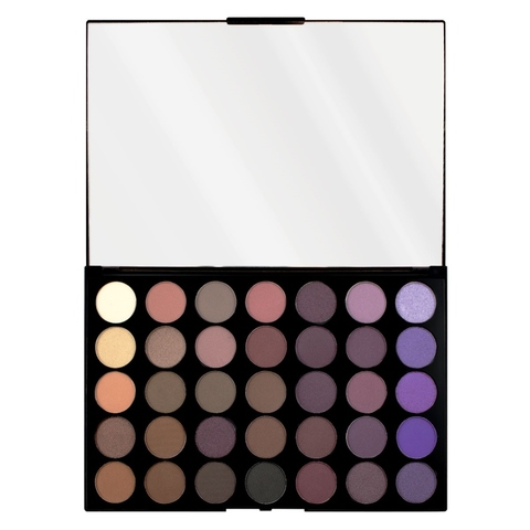 Палетка теней Makeup Revolution Pro HD Palette Amplified 35, Dynamic