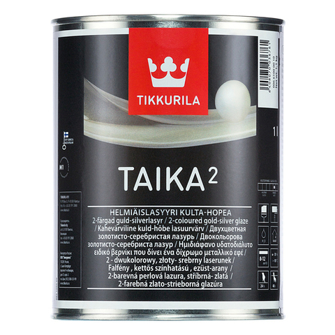 Тайка двухцветная перламутровая лазурь - Taika 2