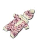 Вязаные ползунки - Сиреневый. Одежда для кукол, пупсов и мягких игрушек.