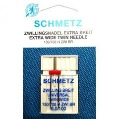 Фото: Игла Extra wide twin needle 130/705 H ZWI BR SES № 1-6,0/100