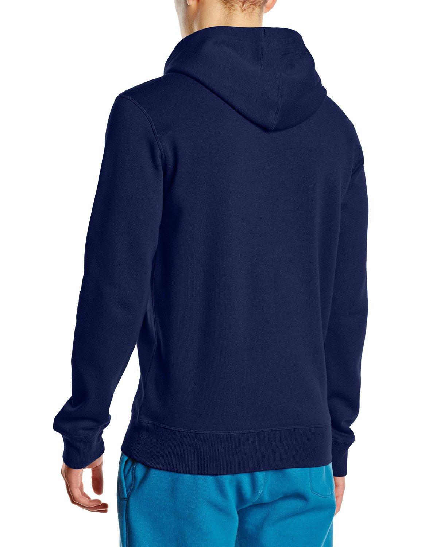 Мужская толстовка Asics Graphic Hoodie (125093 8052) синяя