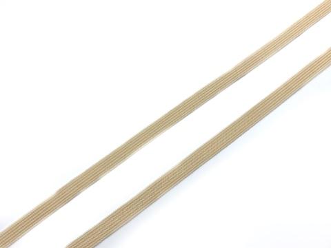Резинка отделочная бежевая 6 мм Lauma