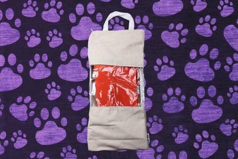 Гамак для кошек и собак премиум терракотовый GK2TER
