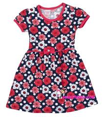 383 платье ромашки