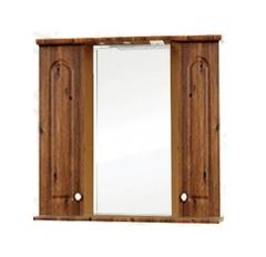 Зеркало-шкаф SanMaria Венге-100 светлый орех