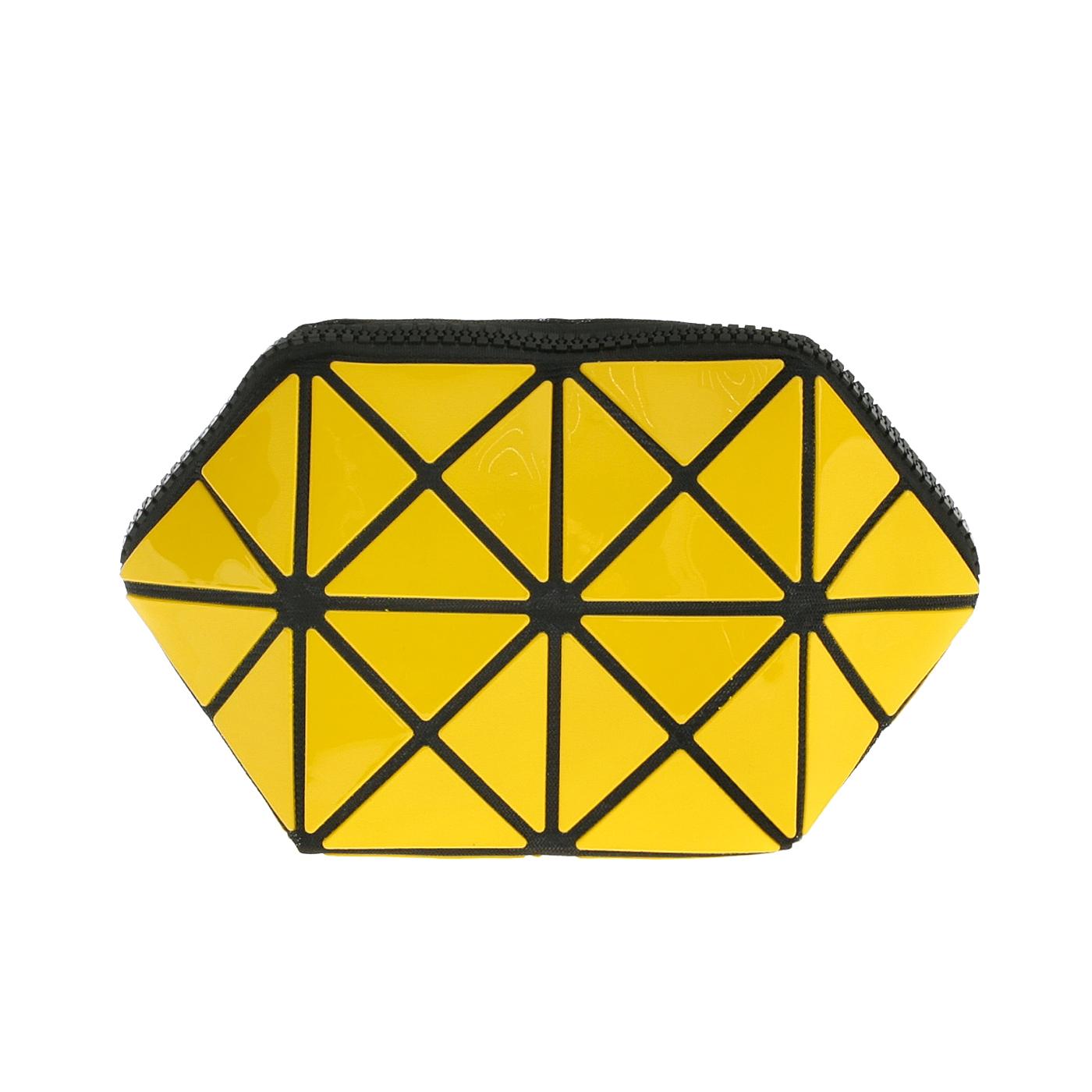 Косметичка женская Musaa Geometric bags, yellow