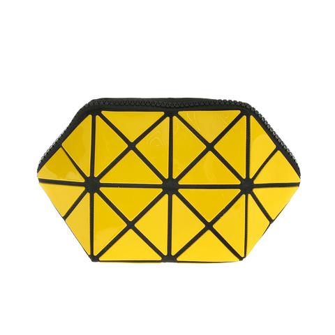 Косметичка женская Musaa Geometric bags, yellow, фото 2