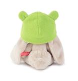 Зайка Ми в шапочке-лягушонок