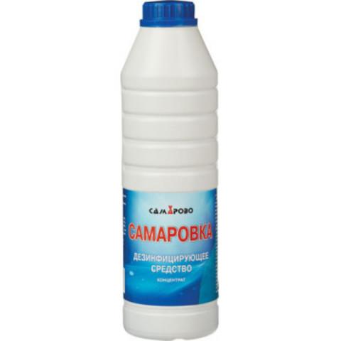 Дезсредство Самаровка, жидкость 1л (концентрат) Россия