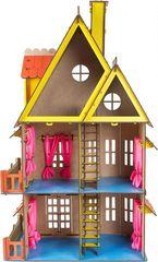Кукольный домик жёлтый