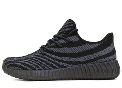 Кроссовки Мужские Adidas Originals Yeezy 550 Black Grey