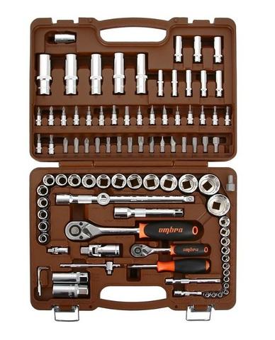 Набор инструмена 108 предметов OMBRA OMT108S