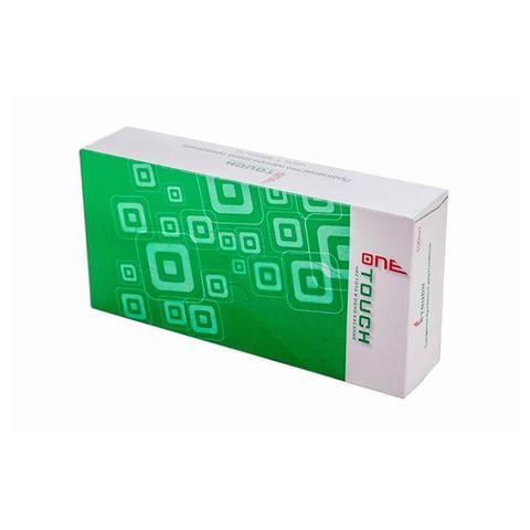 Салфетки бумажные двухслойные вытяжные, 100шт./уп, One Touch