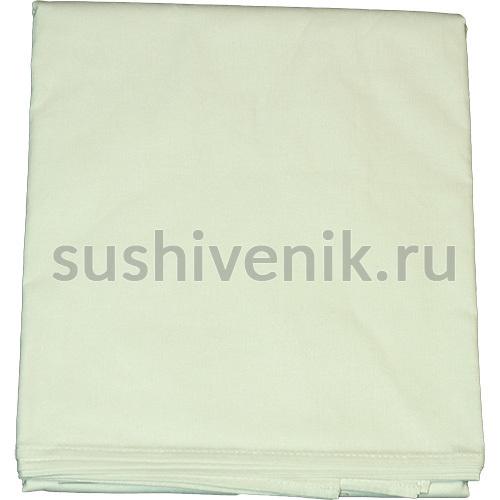 Простыня для бани белая 150 х 180 см