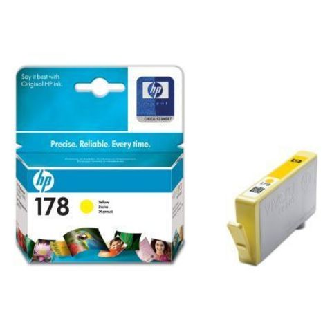 Картридж HP CB320HE (№178) Yellow inkjet CIS