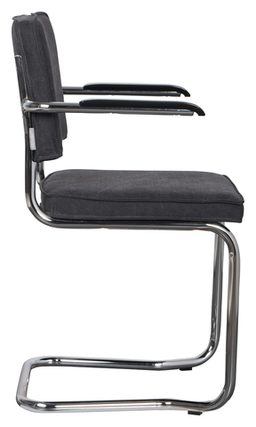 Кресло Zuiver Ridge Kink Vintage - charcoal - 1200075