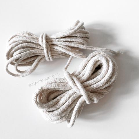 Хлопковая веревка для крепления зажимного фермуара (выбрать диаметр)